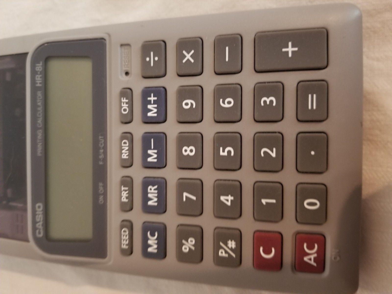 casio printing calculator image 5
