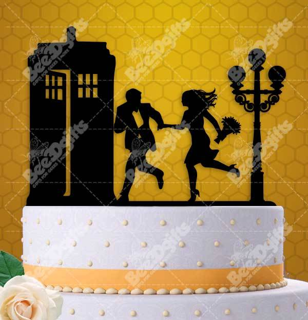 Rush to the Tardis Couple with Lamp Post and 50 similar items