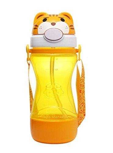 Lovely Animal Kids Sippy Cups Baby Sippy Cup Children Drinking Cup Tiger