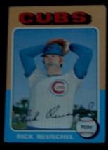 Rick Reuschel, Cubs,  1975 #153 Topps  Baseball Card - GDC COND GREAT CARD - $2.96