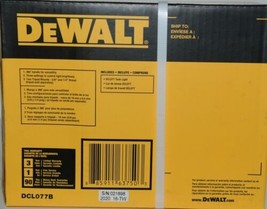 DeWalt DCL077B Compact Task Light TOOL ONLY 12V 20V Lithium Ion CORDLESS Pkg 1 image 2