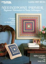 Needlepoint Primer Beginner Instruction in Basic Techniques Leisure Arts 297 - $5.95