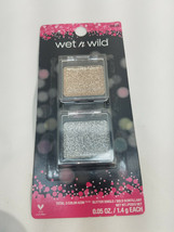 Wet N Wild Color Icon Face Accent Glitter 2 Singles Pack (Not For Eyes Or Lips) - $6.92