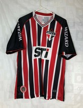 Soccer Jersey Wizard Tri Color Red Black Large Champion 2013 XL Penalty ... - $43.56