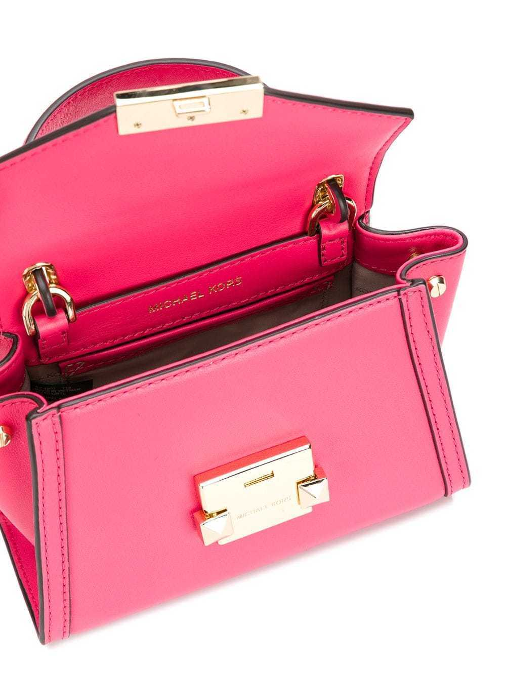 dafb4df6733e MICHAEL MICHAEL KORS Whitney Crossbody Mini Messenger Bag Rose Pink