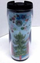 NWT STARBUCKS COFFEE COMPANY 2005 Travel Tumbler 12 oz LENTICULAR CHRIST... - $14.39