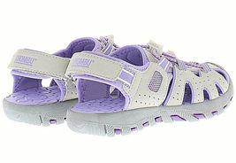 Brand New Khombu Kids Athletic Active Girls Purple Sandals image 3