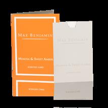 Max Benjamin Mimosa & Sweet Amber Scented Card ... - $8.96
