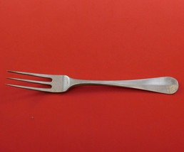 """Danish .833 Silver Dessert Fork 3-Tine Rattail Circa 1844 7"""" - $89.00"""