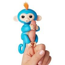 BLUE BORIS - FINGERLINGS Interactive Finger Pet Baby Monkey REAL FINGERL... - $31.70
