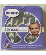 NEW Boppy Gray White Yellow Giraffe Breastfeeding Nursing Pillow Cover - $16.93