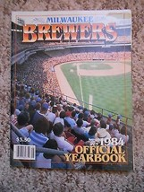Old Vintage 1984 Official Yearbook Milwaukee Brewers Magazine Booklet Ba... - $9.99