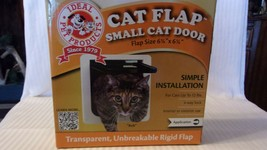 "Small Cat Door Cat Flap 4 Way Lock from Ideal Pet Products 6.25"" x 6.25""... - $29.70"