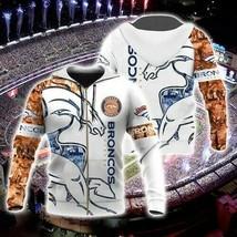 Nfl-Denver-Broncos V2 3D Hoodie Unisex Size S-5XL , Gifts For Fans, Gift For Fam - $33.82+