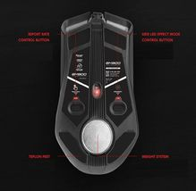 Geekstar GM900 3325 Wired Gaming Mouse 6-Step DPI Weight Switch (Black) image 4