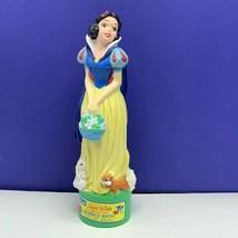Snow White Bubble Bath figure vintage walt disney 1993 kid care seven dwarfs vtg - $29.65