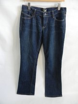 NWT Womens Old Navy Diva Boot Cut Jeans Size 6 Long Cotton Polyester Spa... - $19.99