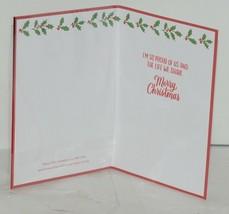 Hallmark XZH 173 4 House Christmas Ornament Card Red Envelope image 2