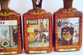 Jim Beam Saturday Evening Post Cover Decanters - $30.00