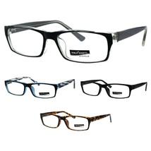 9e7508fdc4 57 thumb200 Classic Narrow Rectangular Professor Studious Plastic  Eyeglasses Frame ...