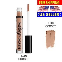 NYX Lips Lingerie Matte Liquid Lipstick Waterproof Lip Gloss Makeup Long... - $12.19