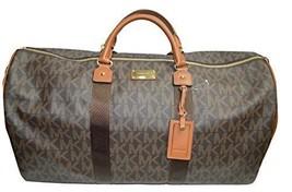 Michael Kors Travel Duffel Bag Brown (35T6GTFU4B) - $242.55