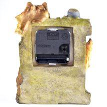 Rustic Nature Gray Grey Wolf Family Pack Mantle Desk Shelf Quartz Clock image 3