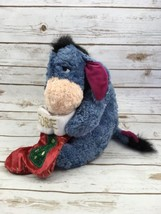 Eeyore Plush Collectible Winnie The Pooh 2001 Christmas Stocking Stuffed... - $26.68
