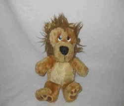 "Wonderful 13"" Plush Stuffed DAKIN Fun Farm Lion 1983 - $95.60"