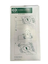 NEW SEBO Filterbox Airbelt K AeraPure 8 Pieces Vacuum Cleaner Bags 6629AM - $24.74