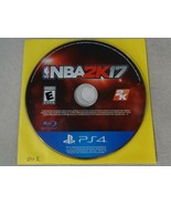 EUC NBA 2K17 Sony Playstation 4 PS4 Game Disc Only Free Ship - $14.84
