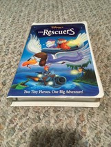 The Rescuers (VHS, 1998, 1999 Re-Release) - $11.98