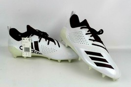 Adidas Football Cleats Adizero 5-Star 7.0 White/Maroon DA9550 Size 14 - $57.94