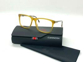 Carrera 2012T 40G YELLOW HONEY 52-16-135MM Eyeglasses /Case+cloth - $43.48