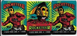 The Rocketeer Movie Trading Cards 3 Sealed Unopened 1991 Topps - $2.99
