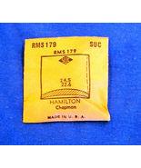 Vintage Hamilton Chapman Plastic Crystal  Wristwatch Part RMS179 - $10.99