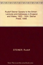 Rudolf Steiner Speaks to the British - Lectures and Addresses in England and Wal image 2