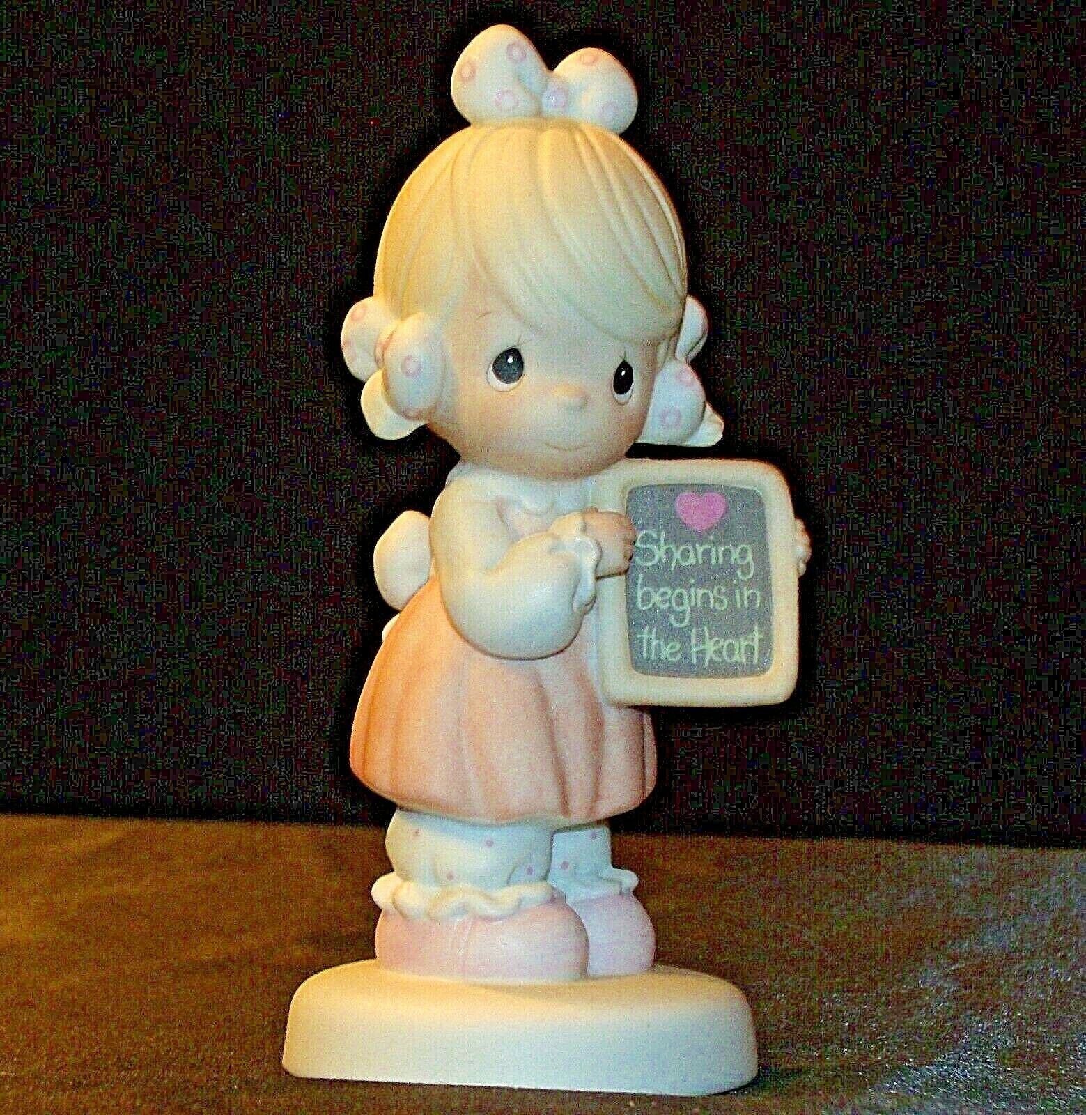 1988 Precious Figurines Moments AA-191843 Vintage Collectible