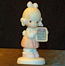 1988 Precious Figurines Moments AA-191843 Vintage Collectible image 1