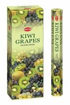 Hem Kiwi Grapes Incense Sticks Fragrances Kiwi and Grapes 120 Agarabatti New - $12.76