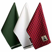 """DII Cotton Christmas Holiday Dish Towels, 18x28"""" Set of 3, Decorative Ov... - $9.46"""