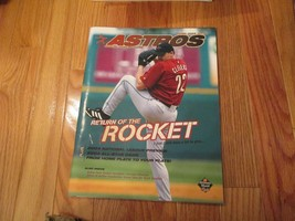 2004 Houston Astros Scorebook Program Souvenir Magazine MLB Baseball - $8.99