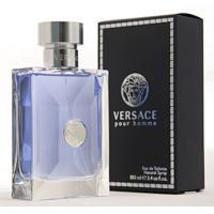 Versace Signature Homme by Versace Edt Spray (Blue/Silver) For Men - $38.99+