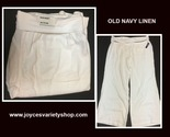 Old navy white linen pants web collage thumb155 crop