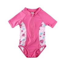 Vivafun Baby Girl Sun Protective Swimwear Infant Toddler Rash Guard Shir... - $19.03
