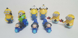Lot Of 9 Mcdonald's Despicable Me Minions Gru Figures Happy Meal Toys - $8.99