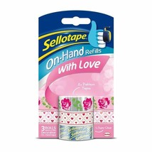 Sellotape On Hand Refill - With Love 10m - $7.65