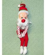 """16"""" Vintage SANTA ELF Bayersdorfer Hugger Shelf Sitter Vintage CHRISTMAS... - $22.77"""