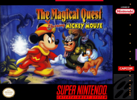 Magical Quest Starring Mickey Mouse SNES SUPER NINTENDO Video Game - $16.18