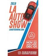 2019 LOS ANGELES International AUTO SHOW List CAR GUIDE Map folder 2020 ... - $7.99